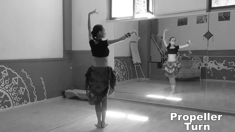 ATS® Slow Moves: Propeller Turn \ АТС-словарь @ dance vocabulary