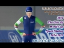 2014 - The Girls Of World Cup Speed Skating 2014-2015