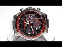 Casio Edifice EQS-800HR-1A Honda Racing Limited edition Solar powered watch video 2018