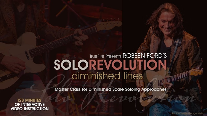 Robben Fords Solo Revolution Diminished Lines - Intro