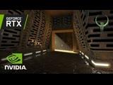 Quake II RTX - GTC 2019 Демо с NVIDIA CEO Дженсеном Хуангом (ultrawide)