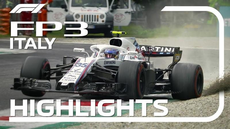 2018 Italian Grand Prix: FP3 Highlights