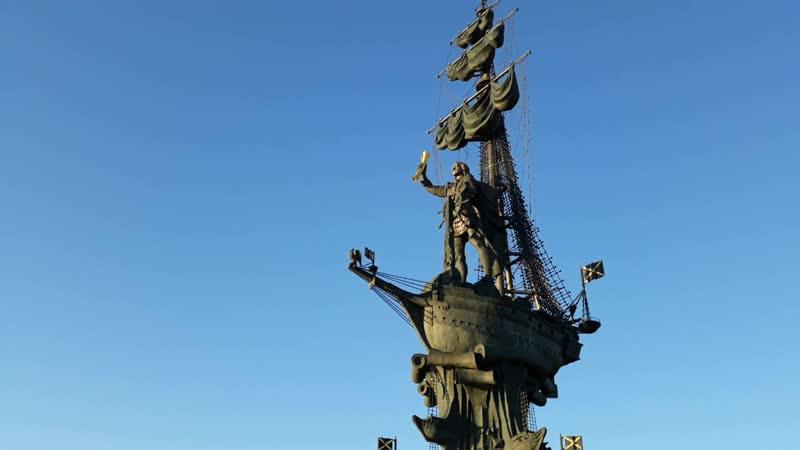 Крымская набережная в Москве 😎👍