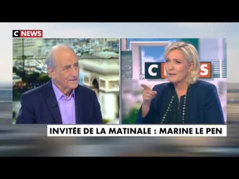 Marine Le Pen l'invitée politique 23 10