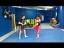 кикбоксинг урок с тренером Ростиславом