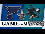 Полный матч: St. Louis Blues vs San Jose Sharks - 14 Мая , 2019