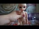 БЖД кукла распаковка
