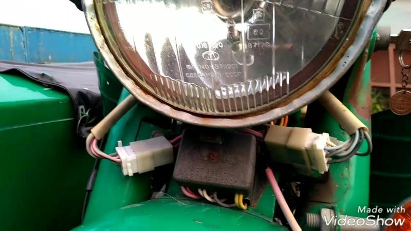 Как закрепить оптику в фаре мотоцикла если потеряны скобки.