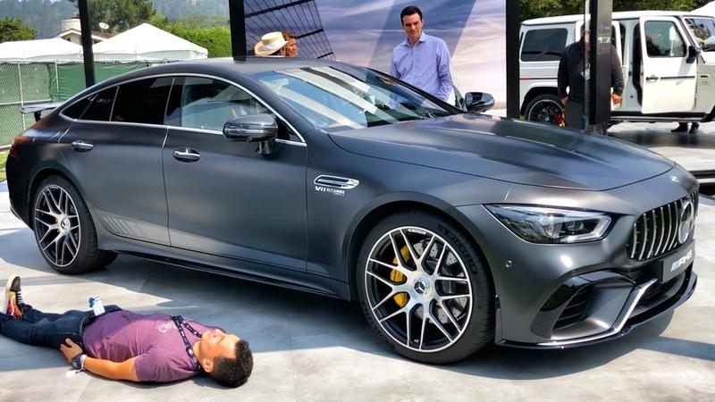 640 л.с. НОВЫЙ Mercedes-AMG GT 63 S! 3.2 с 0-100 км/ч! Обзор убийцы PORSCHE Panamera! 4-Door Coupe