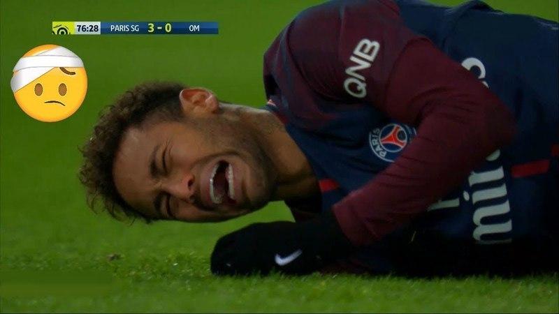 Ужасы футбола 2018 - Переломы и травмы