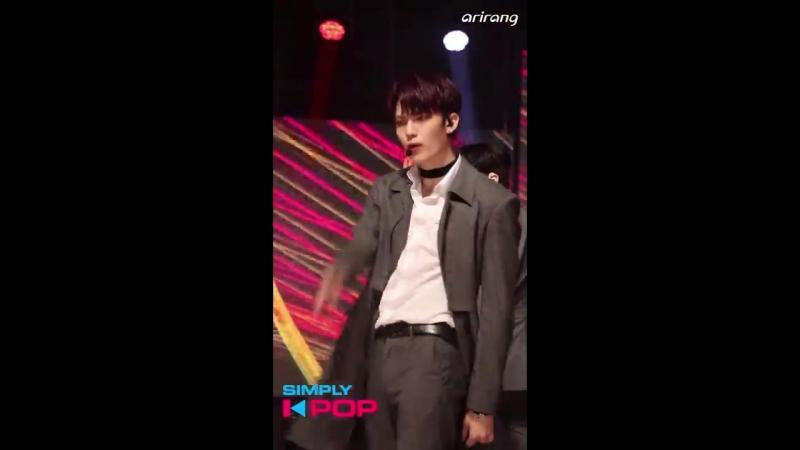 180511 IN2IT(Сонхён) - Snapshot @ Simply K-Pop : Фанкам