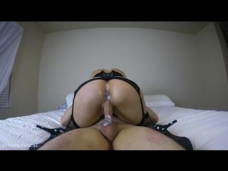 Fucking my hot girlfriends creamy pussy - dripping creampie [pornhub.com]