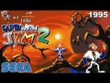 Червяк Джим 2 СЕГА Полное прохождение игры на SEGA 1995 Earthworm Jim 2 SEGA Walkthrough 90-е