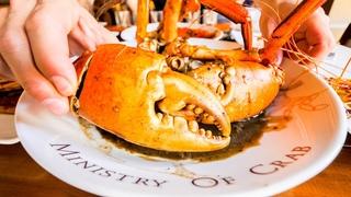 HUGE Street Food Tour of Colombo, Sri Lanka - INSANE SEAFOOD + CURRY w/ GIANT GOD LEVEL MUD CRABS!