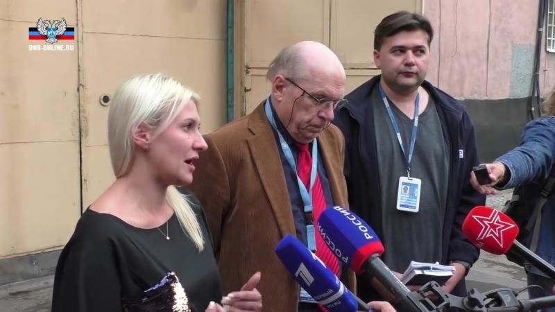 Тони Фриш ознакомился с условиями содержания украинских военнопленных в ДНР.