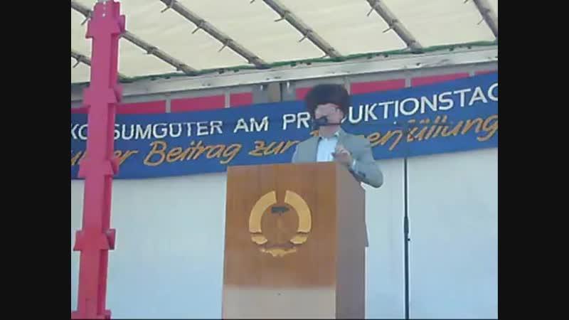 Erich Honecker in Pirna