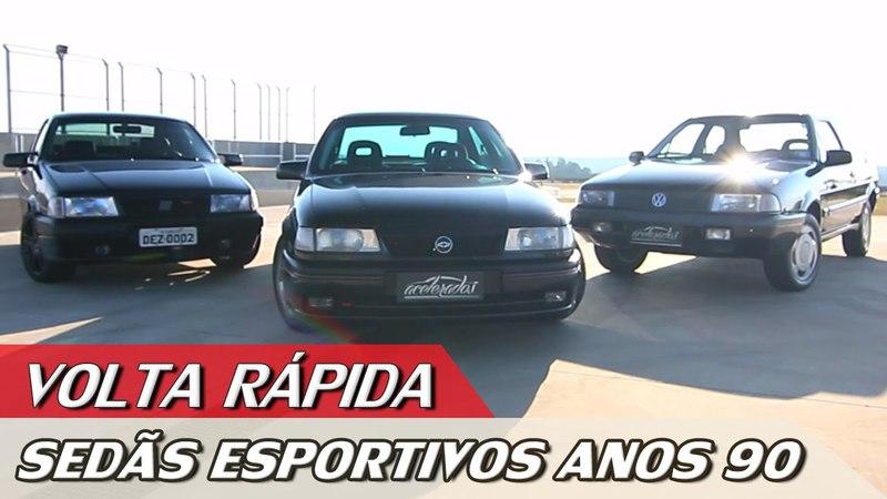 GM VECTRA GSi X FIAT TEMPRA STILE X VW SANTANA SPORT – VR COM RUBENS BARRICHELLO 72 | ACELERADOS