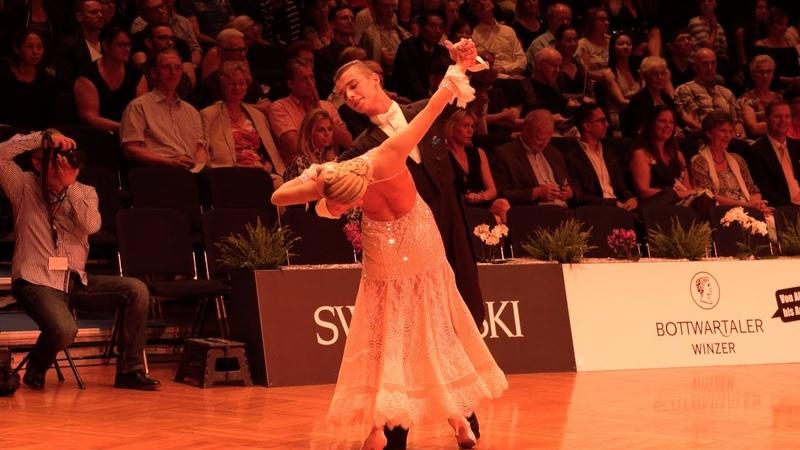 Vladislav Untu - Polina Baryshnikova MDA, Viennese Waltz | WDSF Open Youth Standard