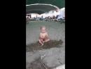 На песочке