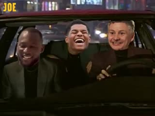 OLE IS AT THE WHEEL