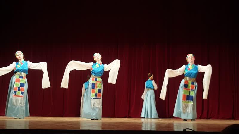 Ансамбль Юность Навстречу к солнцу тибетский танец г Жуковский