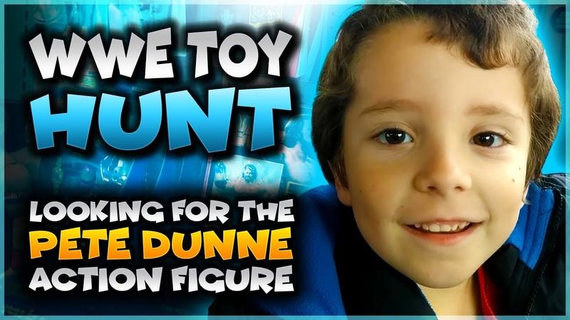 Pete Dunne Action Figure Hunt At Target - WWE Toy Hunt