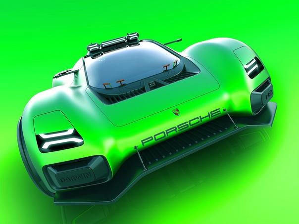 Проект Александр Имнадзе Бальдини — Porsche Mission-E Darwin Автомобили марки Porsche в прошлом с успехом выступали в ралли, достаточно упомянуть прототип 959 группы B, побеждавший в марафоне