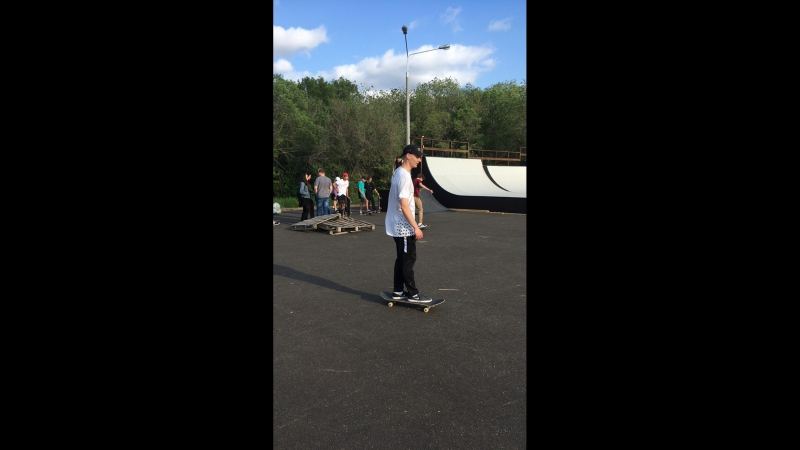 Ура! Наконец-то открыли скейт парк!🎉🎊👏🏻