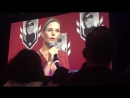 JMo talking about her future projects MontrealComicCon