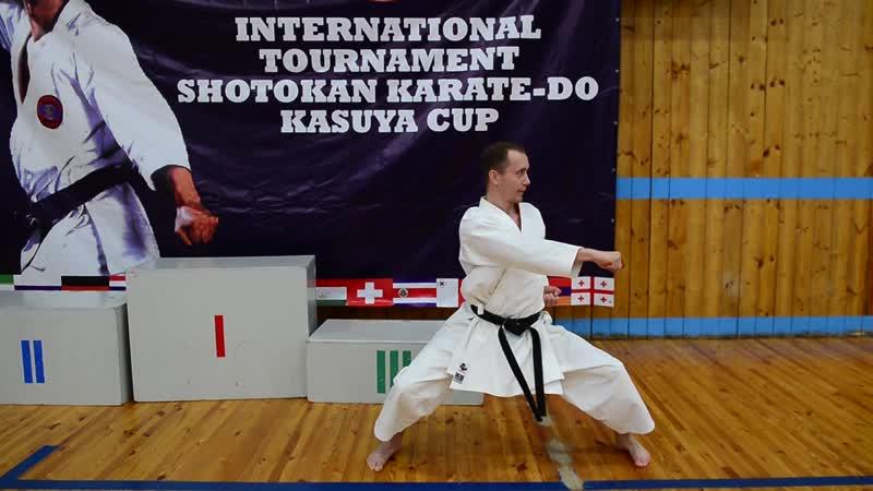 Кубок Касуи международный турнир по Сётокан Каратэ
