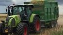 D Yates lifting whole crop for Ernespie Castle Douglas