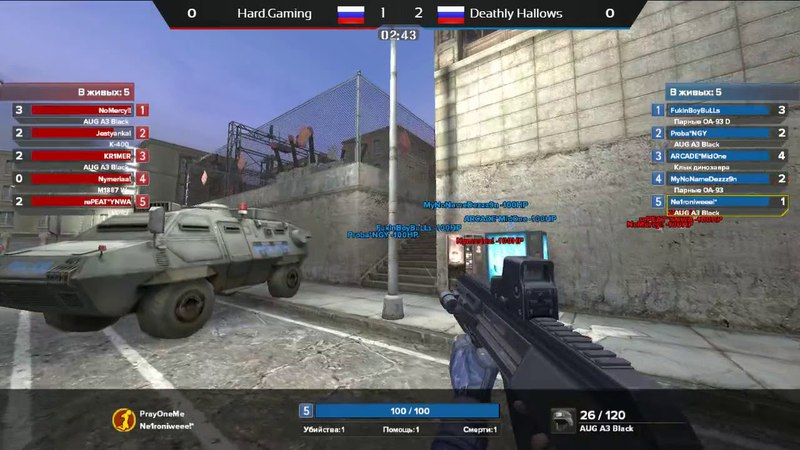 Hard.Gaming vs. Deahtly Hallows [Arena | Боевые будни 344] @vvg