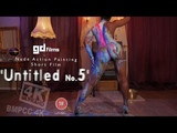 Nude Art Ebony Action Body Painting 'Untitled No.5' • GD Films • BMPCC 4K Deep House