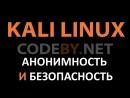 Как настроить Kali Linux в плане безопасности и анонимности 2018