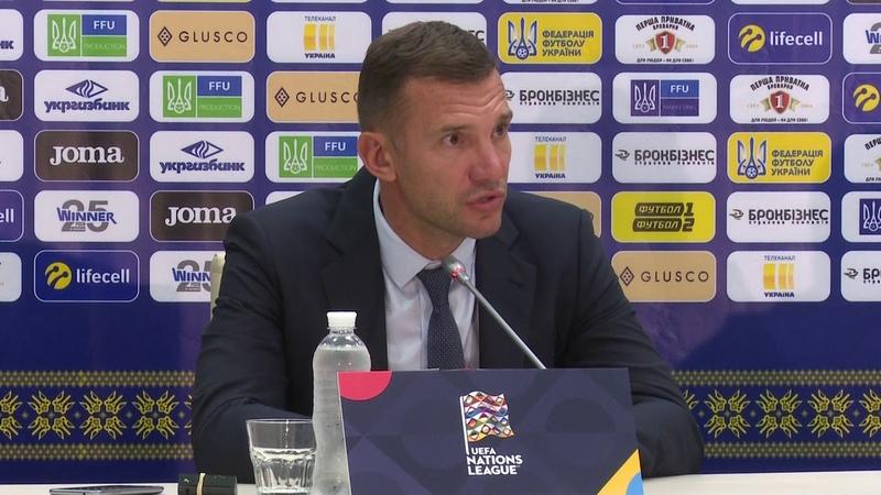 UEFA Nations League | UKRAINE 1 - 0 SLOVAKIA | Андрій Шевченко. Коментар після матчу