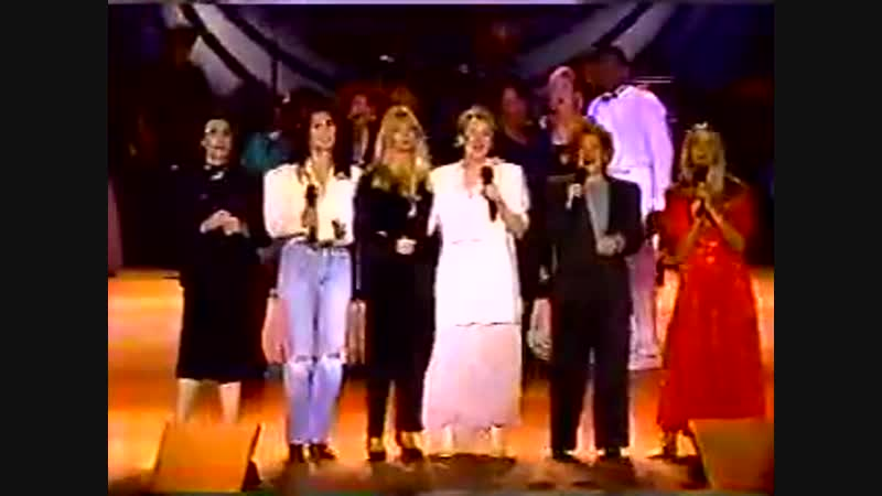 Meryl Streep, Bette Midler, CHER, Olivia Newton JOHN, Goldie HAWN WHAT A Wonderful World...