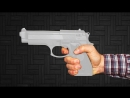HowToBasic How To Make a Paper Gun that Shoots