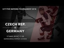 U17 5 Nations Tournament 2018 | Czech Republic – Germany
