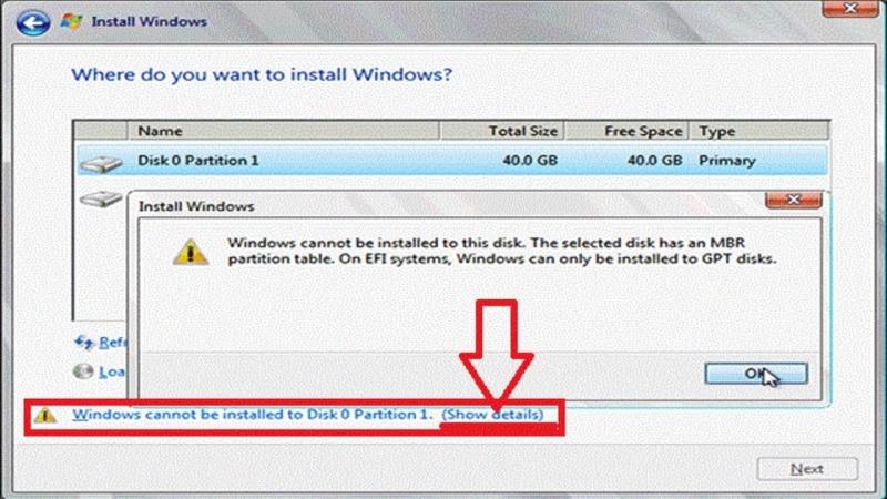 [BigWillie Show] Ошибка EFI\UEFI\MBR при установке Windows 10