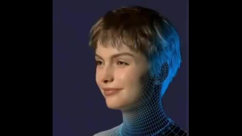 ️Yapay zekaya sahip ️Siri Google Asistan ve Alexanın görsel halini andırıyor ️Göz teması kuruyor mimiklerini kullanıyor