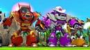 Вспыш и чудо машинки Роботы спасатели Игры мультики про машинки для детей Мультфильмы 2018