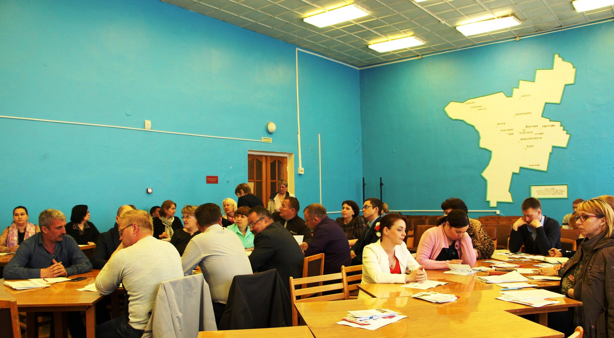 Министр имущественных и земельных отношений Республики Коми с рабочим визитом посетил Удорский район