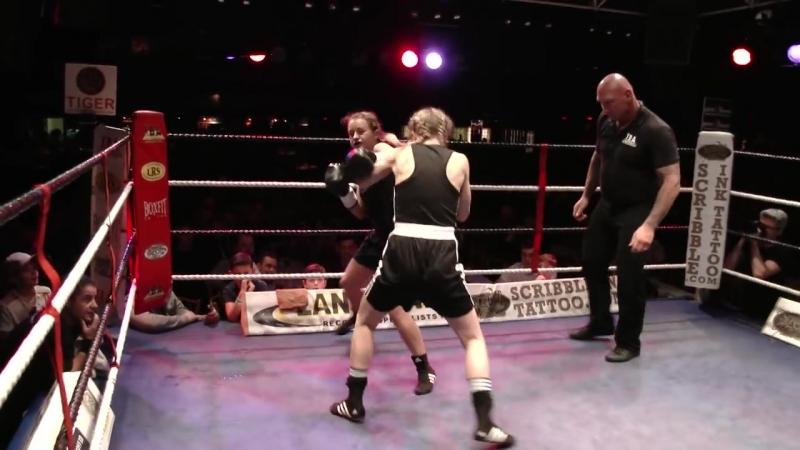 Brutal Womens Boxing Fight! - Emma Kennedy v Jurate Jay