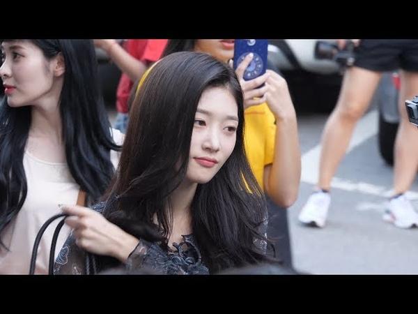 180817 다이아 DIA 정채연 Chaeyeon 4K 60P 직캠 @ 뮤직뱅크 출근길 by Spinel