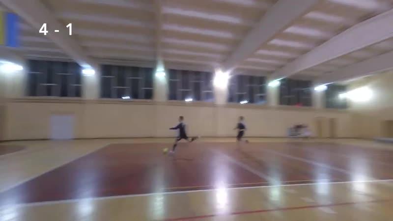 Монолит - Евгеника (11-й чемпионат по футзалу, Первая Лига, 17-й тур) (гол Иванченко)