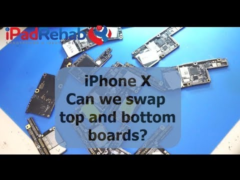 IPhone X Data Recovery Will it boot if you swap the mainboard and RF boards