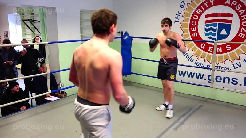 22.01.2015 Olegs Asejevs (LAT) VS Konstantins Jurkovs (LAT) proboxing.eu