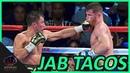 Golovkin's Insane Jab all over Canelo's Face (RAW Audio   No Commentators) CaneloGGG2