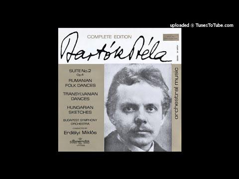 Béla Bartók Hungarian Sketches for orchestra Sz. 97 (1931)