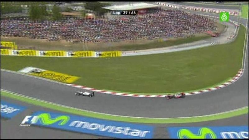 5.Carrera F1 Gp España 2010